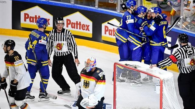 Schweden jubelt, Deutschland hadert.