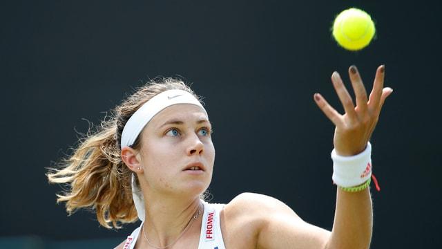 La giugadra da tennis svizra, Stefanie Vögele.