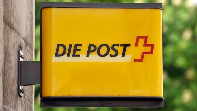 Schild «Die Post»