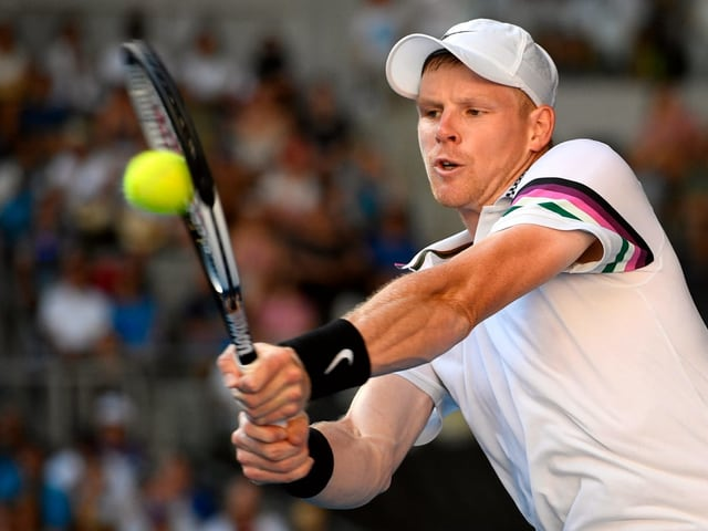 Tennisspieler.