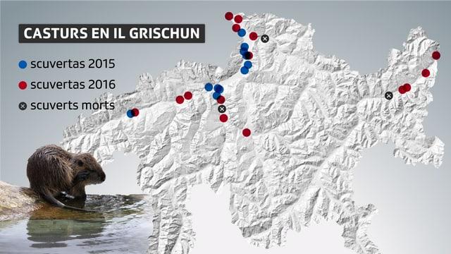 La grafica da scuvertas en Grischun