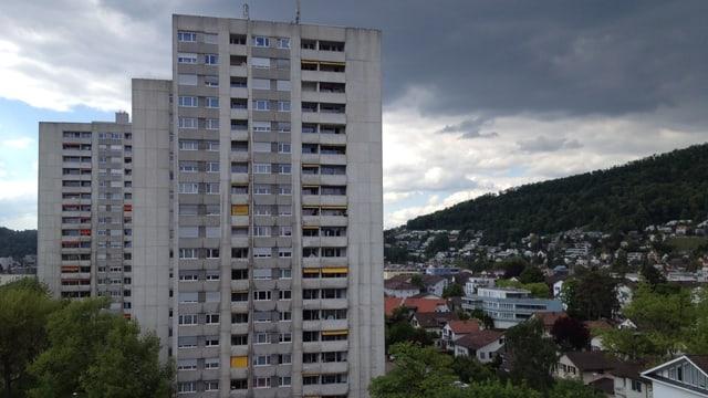Hochhäuser in Wettingen.
