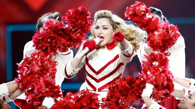 Madonna hat mit ihrer «MDNA»-Tour am meisten verdient.