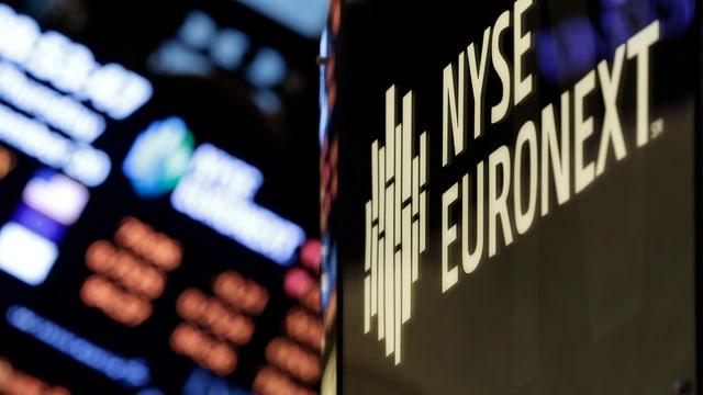 Das Sigent der Nyse/Euronext an der Börse von New York.