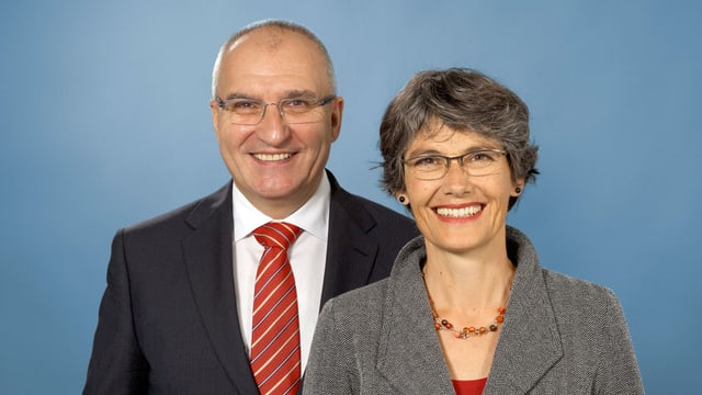 Daniel Münger und Regula Nebiker
