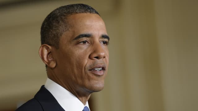 Barack Obama spricht