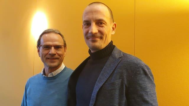 Werner Boxler und Michael Bubendorf
