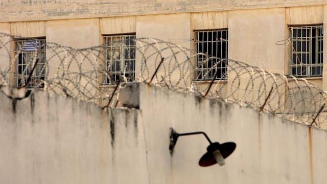 Ein Gefängnis von aussen.