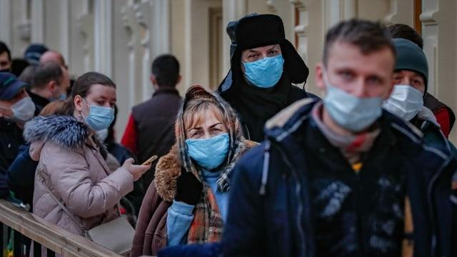 Menschen in Moskau