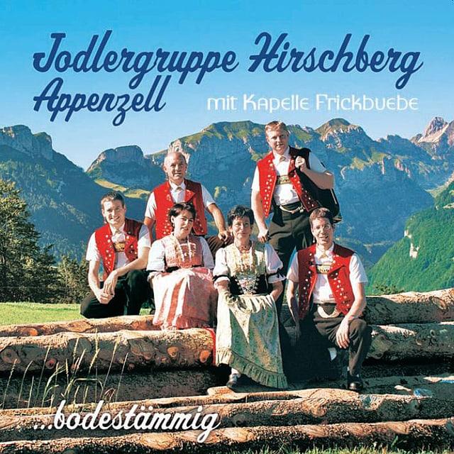 CD Cover Jodlergruppe Hirschberg Appenzell