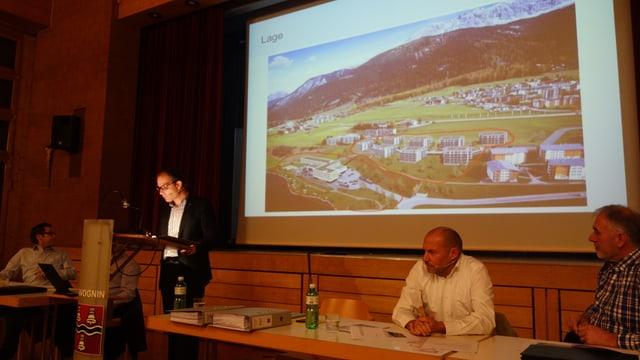 Il president communal da Savognin ha infurmà detagliadamain davart ils detagls dal project.