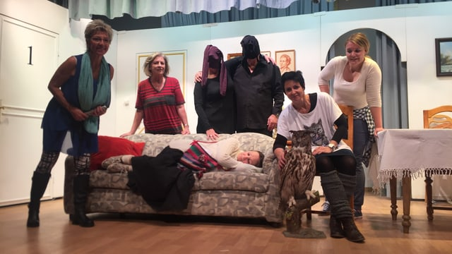 acturs da la gruppa da teater