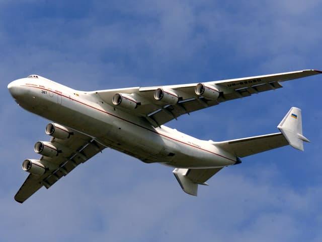 Die Antonov in der Luft