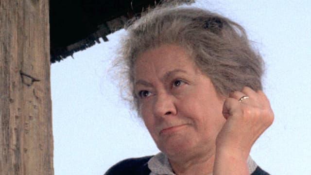 Portrait von Margrit Rainer als Bäbi Scheidegger im Film «Die 6 Kummerbuben» von Franz Schnyder aus dem Jahr 1968.