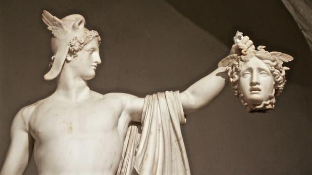 Theseus und Medusa