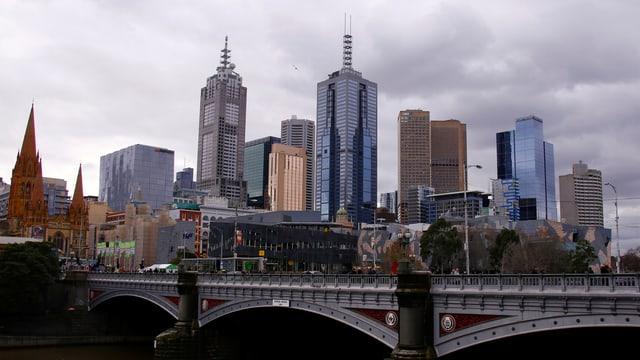 La citad da Melbourne.