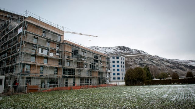Das Wallis hat viel zu grosse Bauzonen.