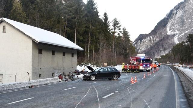 Accident dasper Landquart.