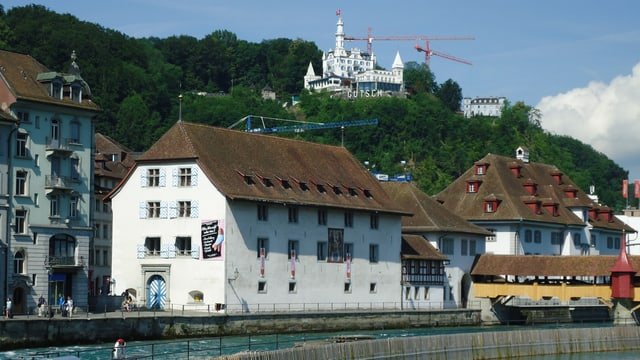 Gebäude Historisches und Naturmuseum in Luzern