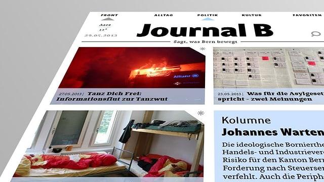 Journal B stellt Profibetrieb ein - und macht mit Freiwilligen weiter.