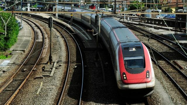 in tren sin viadi