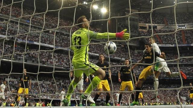 Ronaldo fa igl 1:0 cun il chau suenter ina flanca da Casemiro.