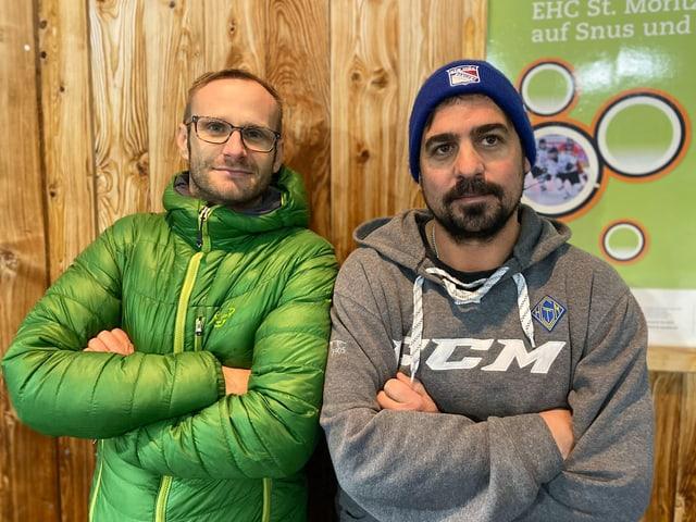 Benjamin Wunderer e Gian Marco Trivella