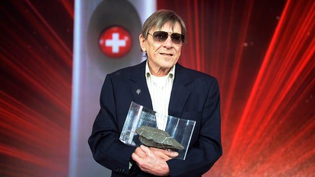 Polo Hofer mit Swiss Award