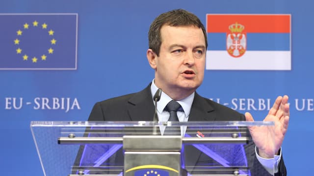 Ministerpräsident Ivica Dacic