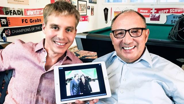 Video ««Donnschtig-Jass» live aus Klingnau AG mit Beni Thurnheer» abspielen