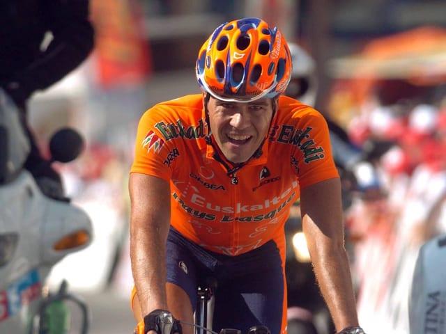 Gesamtsieger Aitor Gonzalez an der Tour de Suisse 2005.