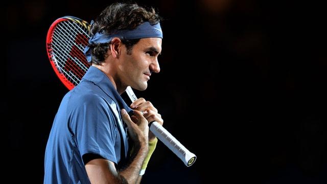 Roger Federer konnte sich in Basel von Spiel zu Spiel steigern.