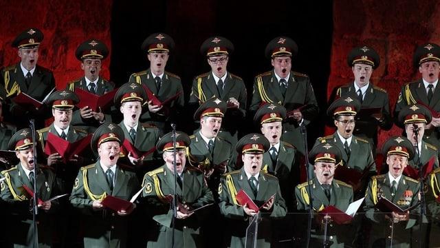 Il chor Alexandrow il 2013 durant in concert en la Tunesia.