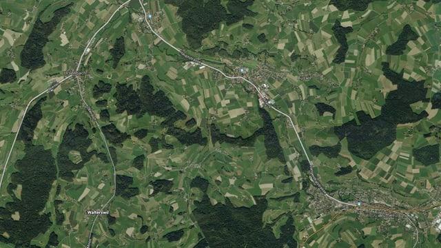 Eine Karte