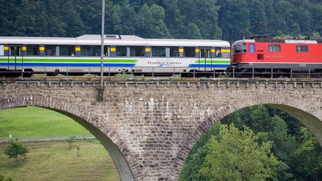 Der Voralpen-Express.