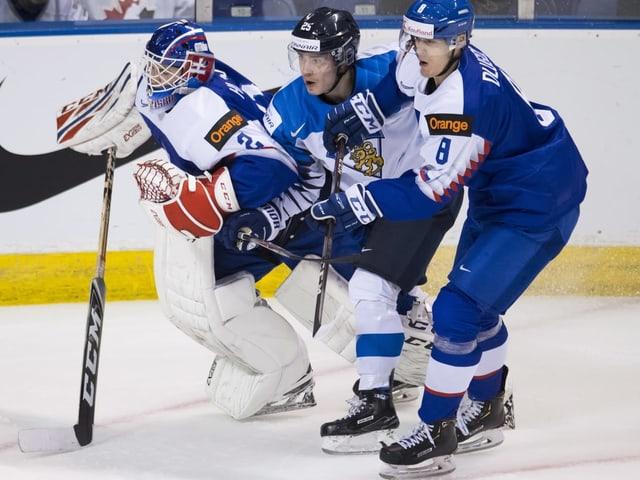 Aarne Talvitie im WM-Spiel gegen die Slowakei.