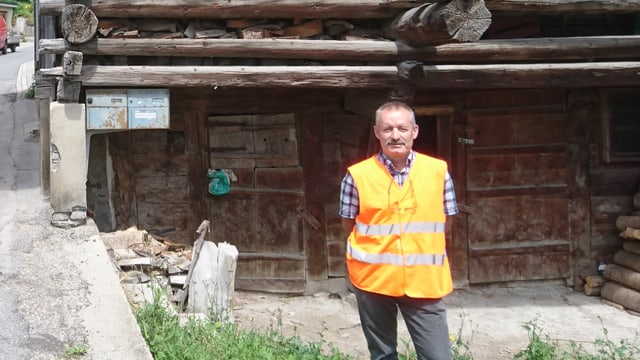 Marcus Valaulta, il manader dal district Glion da l'Uffizi da construcziun bassa.