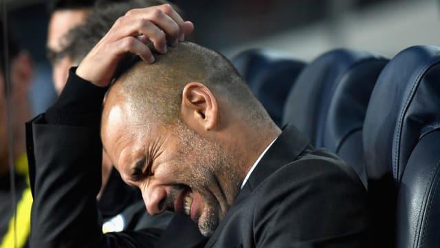 Guardiola hadert