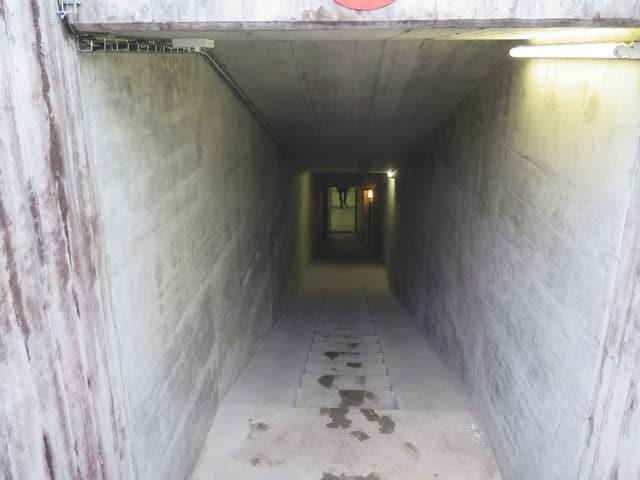 Treppen in den Untergrund