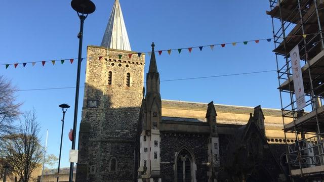 Die Kirchenglocke in Dover wird am Brexit-Tag nicht läuten.