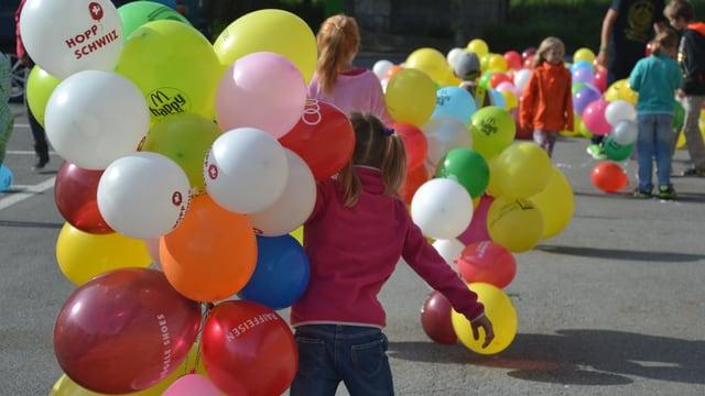 Ballonkette für JRZ