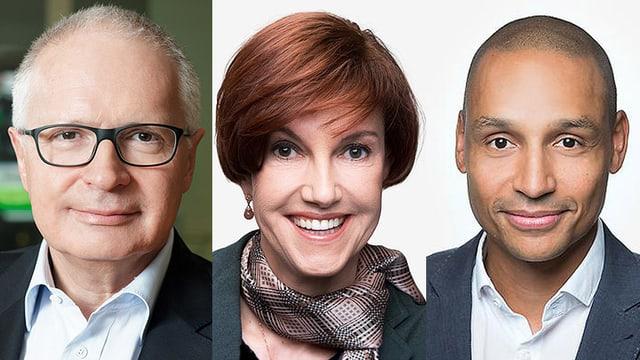 Ruedi Matter, Andrea Hemmi und Bakel Walden