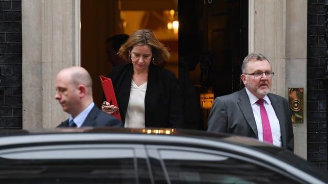 Die britische Innenministerin Amber Rudd.
