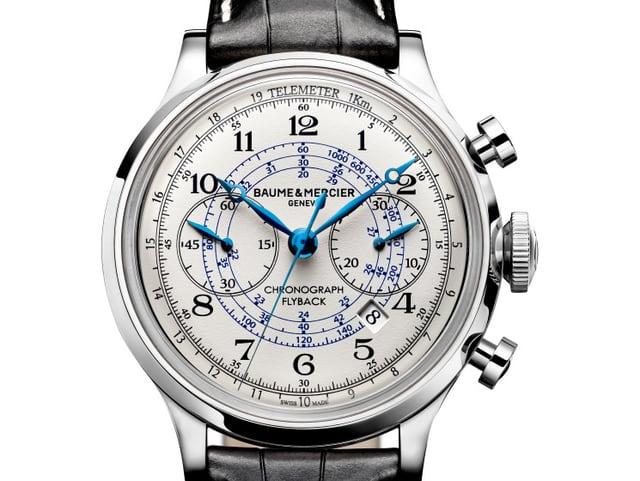 Uhr der Marke Baume & Mercier.