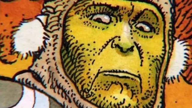 Zeichnung des bedeutenden französischen Comiczeichners Jean Giraud alias Moebius.