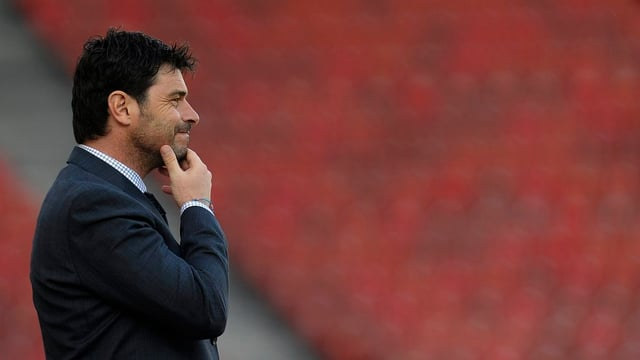 Wohlen Trainer Sforza sieht besorgt aus, bleibt aber optimistisch