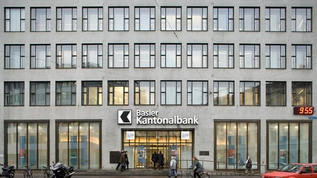 Gebäude Basler Kantonalbank