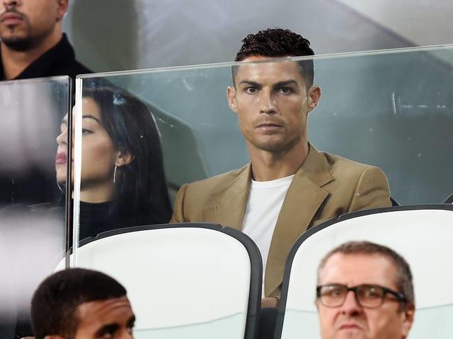 Der gesperrte Cristiano Ronaldo.
