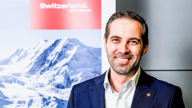Martin Nidegger, il directur da Svizra Turissem.