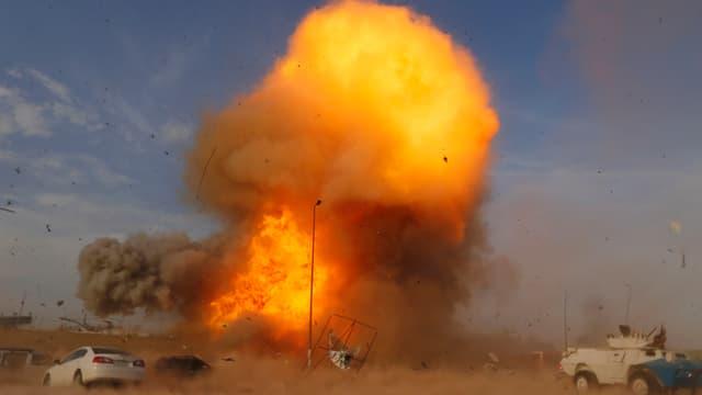 Explosionswolke
